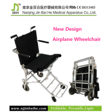 Ultra Light Folding Airplane Transfer Wheelchair